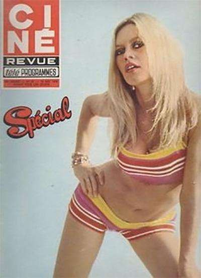 Brigitte Bardot photograph magazine cover